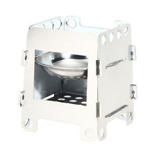 Portable Lightweight Folding Wood Stove Outdoor Cooking Camping Stove R1BO