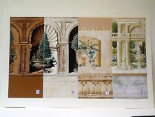 Verdant Terraces & Tromp l'oeil Interiors-Gorgeous Garden Inspired Diorama Rooms