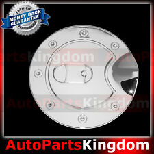 02-09 GMC Envoy Triple Chrome Plated Plastic ABS Gas Fuel Tank Door Cover SUV