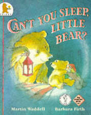 Can't You Sleep, Little Bear? by Martin Waddell (Paperback) GREAT BOOK free p+p