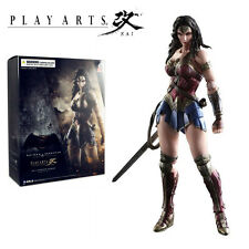 Play Arts Kai Batman v Superman Dawn of Justice Wonder Woman Action Figures Toy