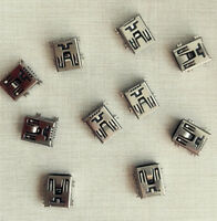 10Pcs Mini USB Type B 5 pin female SMD SMT Socket Connector Plug Jacks For PCB