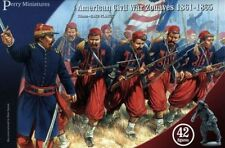 AMERICAN CIVIL WAR ZOUAVES - PERRY MINIATURES - 28MM - ACW