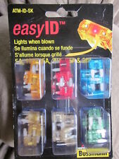 Cooper Bussmann ATM-ID-SK easyID easy ID Fuse Assortment Kit - 36 Piece NEW