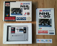 Super Nintendo SNES NHL 95 PAL