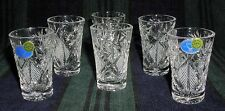 6 Russian Crystal Shotglasses Shot Glass 1.2oz (35 ml). Vodka Scotch Tequila #2