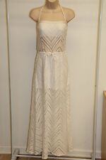 NWT Robin Piccone Swimsuit Cover Up Maxi Dress Sz L White  $138