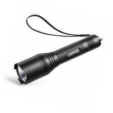 Anker LC90 LED Flashlight, IP65 Water-Resistant, Zoomable, Rechargeable, Pocket-