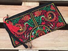 Embroidered Accessory Clutch Bag Purse Free Post UK Sale