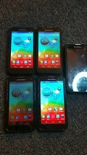 LOT OF 5 Motorola Photon Q XT897- 8GB Black Sprint. #G130