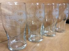 Budweiser 'Game Time' Phillies 20 oz Tulip Tumbler Glasses - Brand NEW Set of 4