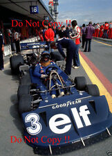 Ronnie Peterson Tyrell P34 Spanish Grand Prix 1977 Photograph