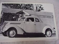 1937 FORD COUPE  12 X 18 LARGE PICTURE   PHOTO