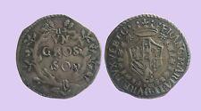 URBINO - FRANCESCO MARIA II 1574-1624 -AG/ GROSSO    RARA  !