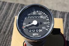 HONDA CHROME Mini  Speedo RT trip meter gauges Speedometer gauge CB CB550 CB750