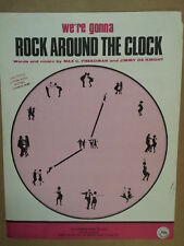song sheet ROCK AROUND THE CLOCK Max Freedman