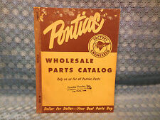 1935-55 Pontiac Original Wholesale Parts Catalog 36 37 39 41 47 48 49 50 53 54