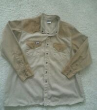 Lapco FRC Men's Size 2XLarge Regular Snap-Up Heavy Duty Work Shirt