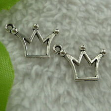 free ship 480 pieces tibet silver crown charms 20x14mm #2820