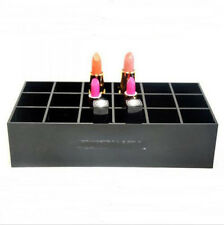CC Acrylic 18 lipstick Holder Cosmetic Makeup Brush Organizer Display Stand Case