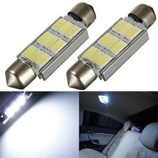 2x 42MM 9 LED 5630 SMD C5W Canbus ODB Anti Erreur Dome Lampe  Blanc 12V Navette