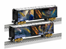 LIONEL 6-83645 THE POLAR EXPRESS MOVIE BOXCAR TOY TRAIN 2 PACK SET O GAUGE 2016