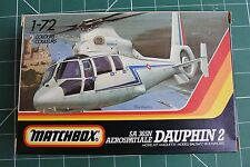 MATCHBOX  1/72 SA 365N DAUPHIN 2 HELICOPTER PK-38 COMPLETE FROM A COLLECTION