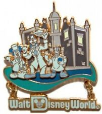 Disney Pin: Retro Walt Disney World Resort Haunted Mansion - Mickey Goofy Donald