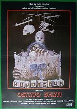 HUMONGOUS-JANET JULIAN/DAVID WALLACE-ORIGINAL YUGOSLAV MOVIE POSTER 1982-HORROR