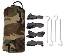 Aqua Quest Defender Tarp + Accessories Kit - 100% Waterproof 10 x 7 ft Tarpaulin