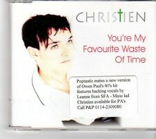 (FK880) Christien, You're My Favourite Waste Of Time - 2000 CD