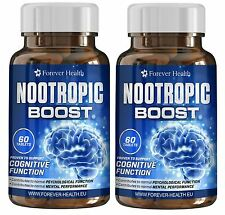 NOOTROPIC BRAIN BOOST - Increase your Concentration and Memory - 120 Pills