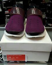 Nike Sock Dart Tech Fleece Mulberry/Night Maroon-Black 834669-501 SZ 10 used