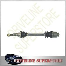 TWO BRAND NEW CV JOINT DRIVE SHAFTS FOR SUBARU BRUMBY 1984-1993 ALL MODEL