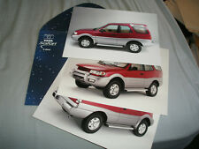 Tata Safari colour photos brochure c2002