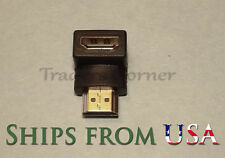 1pcs HDMI 90 Degree Male to Female Adapter for HDTV, Bluray, Cable/Sat Set Box