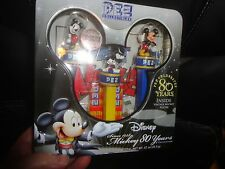 DISNEY PEZ COLLECTIBLE 80 YEARS OF MICKEY, SEALED, NEVER OPENED, INCLUDES POSTER