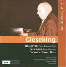 Gieseking plays Beethoven, Schumann, Debussy, Ravel, Beethoven, Schumann, Debuss