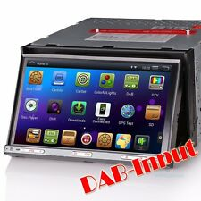 """7"""" HD double din head unit car stereo Android 4.4.4 GPS DAB-IN DTV-IN DVR BT 3G"""
