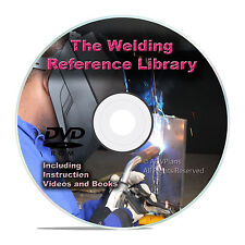 American Welding Manuals DVD, Stick TIG MIG Oxyacetylene Plasma Cutting CD V25