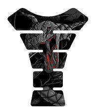 Venom Black Snake Skull Motorcycle Gel Gas tank pad tankpad protector Decal