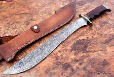 Damascus Sword Handmade Knife Machete  - 22.50 Inches Micarta Handle