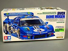 Vintage TAMIYA 1/10 ACURA NSX AVEX DOME MUGEN Racing TA03R #58207
