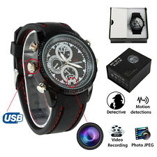 Reloj de Pulsera Cámara Espía HD 8GB Impermeable Cámara Oculta Espía Mini DVR Video
