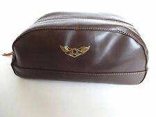 Nouveau RRL Ralph Lauren en cuir marron foncé A-2 homme sac voyage