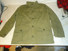 vintage squaltex Red Head Bird Hunting Shooting Jacket fishing sz 40 green