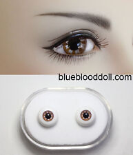 1/3 1/4 bjd 12mm light brown color glass doll eyes dollfie Luts iplehouse #KH-05