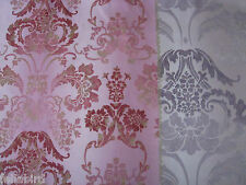 "DESIGNERS GUILD CURTAIN FABRIC ""Kashgar"" 3.5 METRES 100% COTTON ORCHID F2040/06"