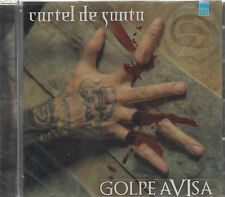 CD -  Cartel De Santa NEW Golpe Avisa ORIGINAL - FAST SHIPPING !