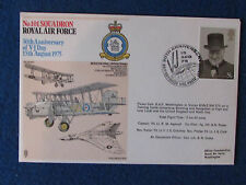 First Day Cover - RAF - 30th VJ Day - Double Stamped - 15/8/75 RAF Waddington